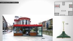 La Ribera Bilbao - Neon y Terraza - Sukalmedia