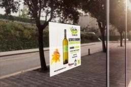 Gilda & Txakoli - diseño gráfico - sticker - Sukalmedia