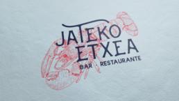 Jateko Etxea Restaurante - diseño gráfico - branding - Sukalmedia