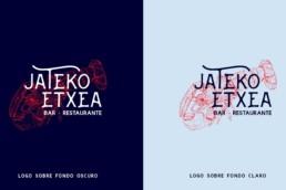 Jateko Etxea Restaurante - diseño gráfico - diseño logo - branding - Sukalmedia